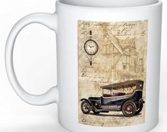 Mens Retro mug