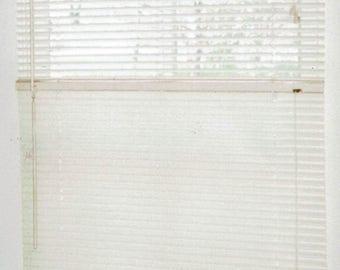 Occasion Window Blind, full control, horizontal mini blind.