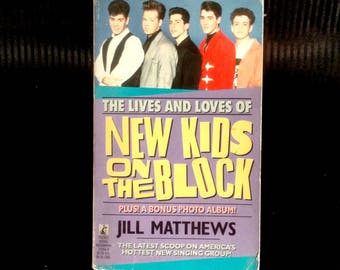 New Kids on the Block Book - 1990