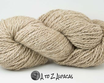 Royal Baby Natural Alpaca Yarn Chunky Weight Taupe