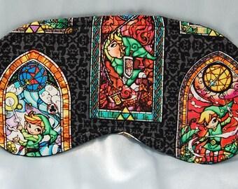 Legend of Zelda cotton print sleep mask
