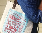 "Tote Bag - ""Breckenridge"" illustration - Natu..."