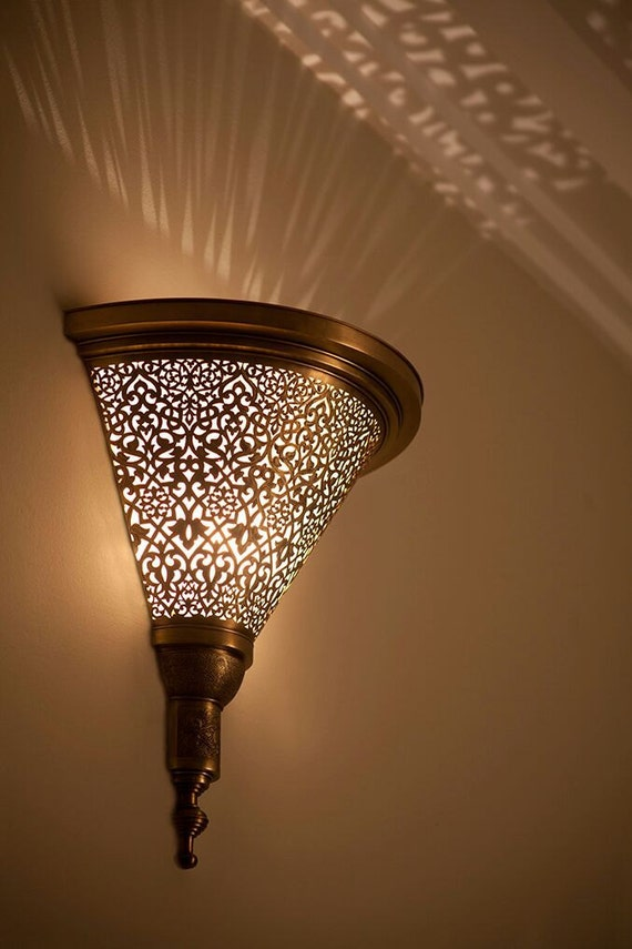 Moroccan sconce indoor wall sconce wall sconce traditional like this item mozeypictures Choice Image