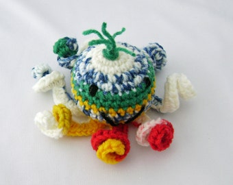 McKenzie the Stuffed Amigurumi Toy Octopus ready to ship