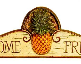 Pineapple Wall Decor Door Topper