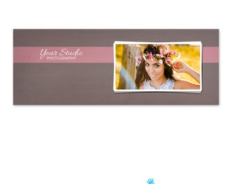 Facebook Cover Template PSD - Facebook Timeline Template PSD - Facebook Timeline Cover - Photoshop Photography Photo FB005