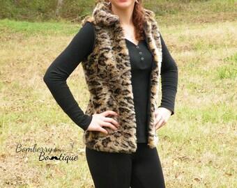 Women's Vest pdf sewing pattern, vest sewing pattern seamingly smitten, fur vest pdf pattern, winter vest pdf sewing pattern for women