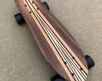 "Mini Cruiser Skateboard ""Boulders"" with a kicktail"