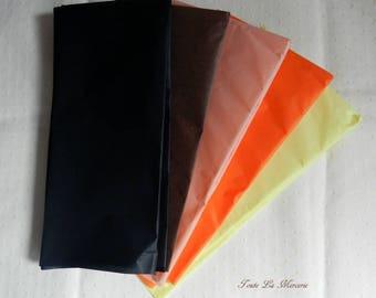 set of silk paper