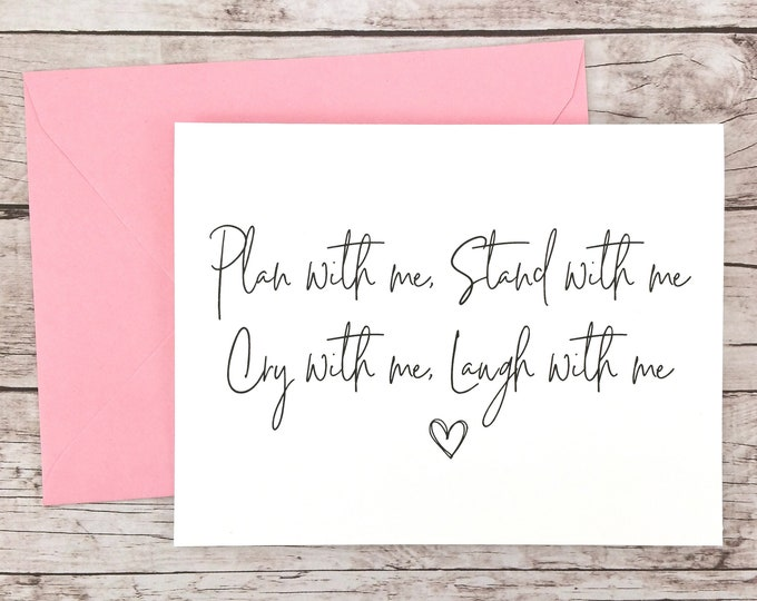 Plan With Me Stand With Me Card (FPS0061)