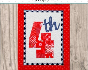 HNH50 Seasons in Patches - Happy 4th PDF Pattern