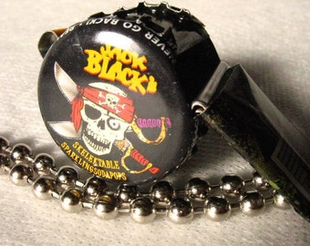 Whistle Pirate Skull Bones | Bottlecapwhistles | Coach Gift | Jewelry Necklace | Toys and Games | Party Favors | Noisemakers |Team Sports
