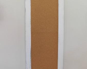 EXTRA LARGE CORKBOARD - Long and Skinny - Farmhouse Decor - Organizer - Kitchen Decor - Bakery Decor - 24 x 54 - Pure White - Choose Color