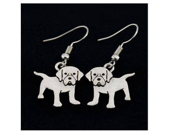 Labrador Charm Earrings