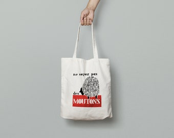 Tote Bag May 1968 are not sheep - limited edition - poster poster may 68