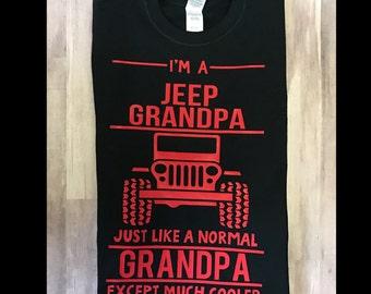 Jeep Dad Mom Shirt