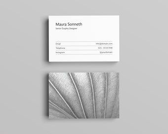 Sonneth Business Card Template