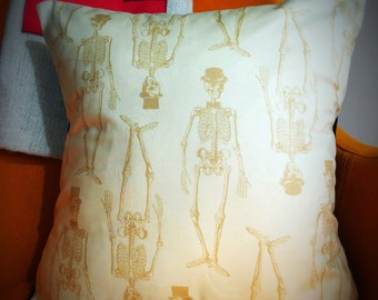 Classy Skeletons Cushion Cover