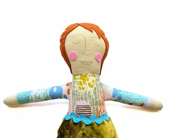 One of a Kind Doll - Gender Neutral - Nonbinary Doll