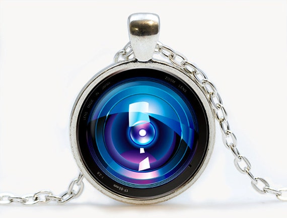 Camera lens eye pendant camera necklace camera jewelry mozeypictures Image collections