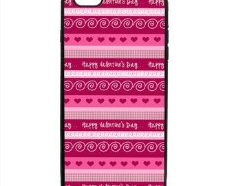 Valentine's Day Print Phone Case Samsung Galaxy S5 S6 S7 S8 S9 Note Edge iPhone 4 4S 5 5S 5C 6 6S 7 7S 8 8S X SE Plus
