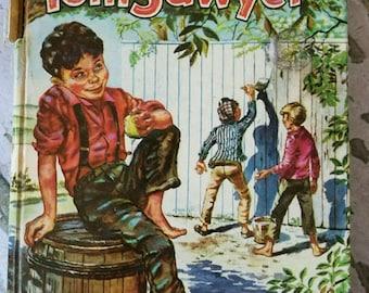 Tom Sawyer Classic Vintage Book 1955