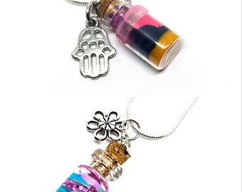 Mini Bottles Necklace