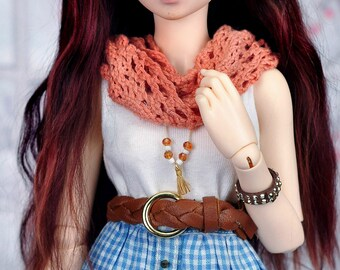 Lace knitted scarf for msd/minifee/Different colors