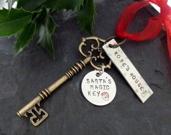 Santa's magic key, Christmas decoration, Santa,