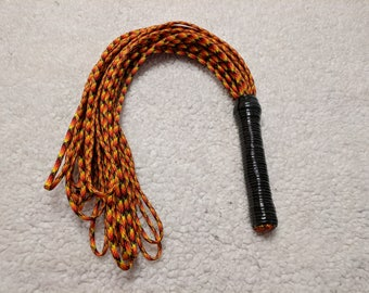 Paracord Flogger - Looped Ends