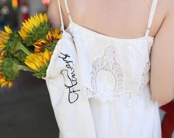 Shoulder Strap Bouquet Bag