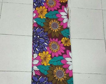Ankara floral fabric, African prints fabric, African designs,
