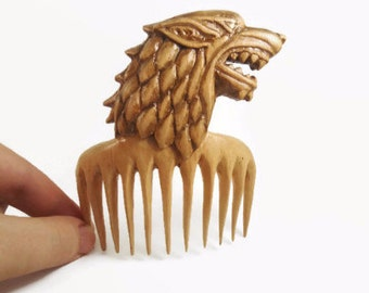Game of throne mother day gift hair comb hair accessories birthday gift decorative comb hair stick wooden best friends hair pin barrette