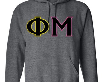 Phi Mu shirt, Phi Mu hoodie, Phi Mu letter shirt, Phi Mu Letter, Phi Mu Gift, Phi Mu Apparel, greek apparel, phi mu letters, greek letters