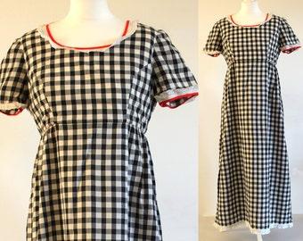 70s maxi dress, long dress, summer dress, 70s dress, 1970s maxi dress, 1970s dress, vintage maxi dress, vintage gingham dress, vintage dress