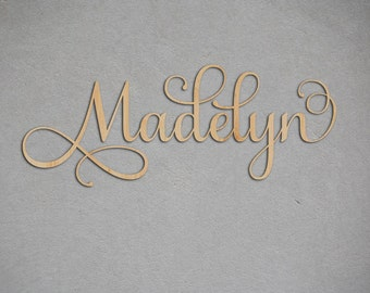 Large Wooden Letters For Nursery Decor, Personalized Letters, Nursery Wall Decorative Letters, Kids Name Sign, Wood Letters, Baby Name Sign