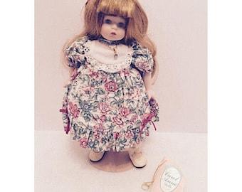 1992 Carol Anne Porcelain Doll by Goebel