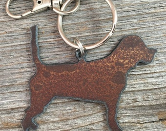 Beagle Keychain, Beagle Key Chain, Beagle Keyring, Key Ring, Dog Lover Gift, Gifts for Dog Mom Pet Loss Memorial Dog Lovers