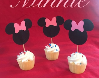 Minnie Cupcake Toppers (12pk)