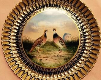 Rare-Antique W. T. Copeland Porcelain Plate