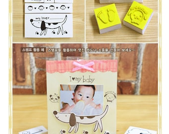 10pcs Rubber Stamps Collection (P134.2 - My Lover)