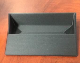 3D Printed Business Card Holder | minimalist | Desk Accessories