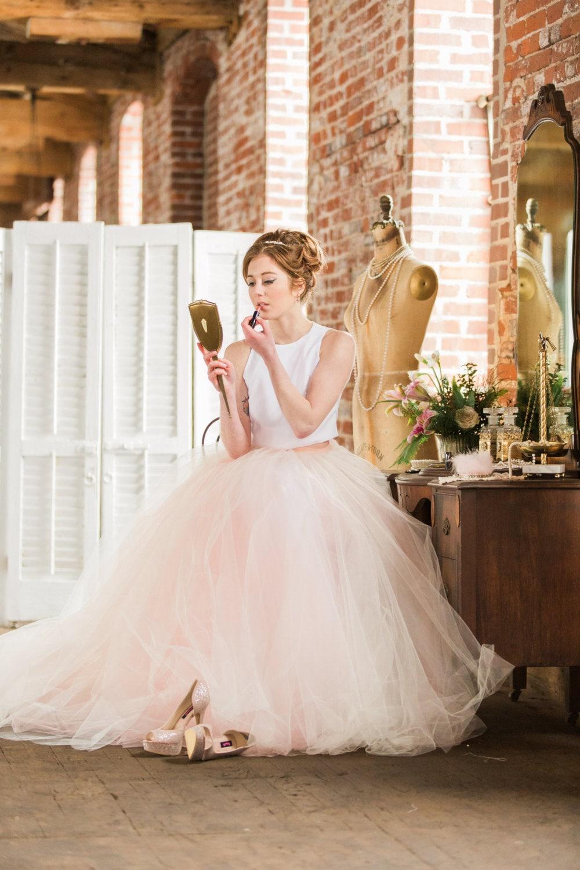 Bridal Skirt Norma J. Two Piece Wedding Dress Wedding