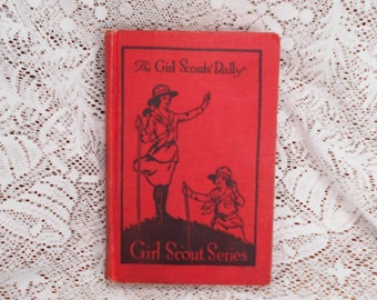 1921 The Girl Scouts Rally Book Volume 2 Hardbound Excellent