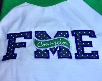 School Initial Shirt