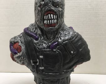 Nemesis bust statue from resident evil 3 hand made horror