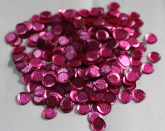100 Pink Color/ Oval Sequins/Metallic Texture/ KBRS578