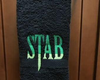 Stab Hand Towel
