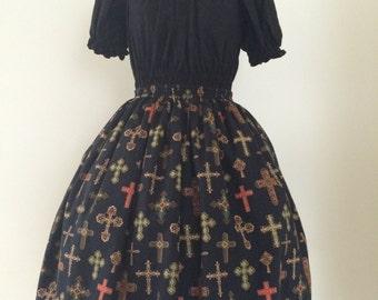 Charmaine Gothic Lolita Skirt
