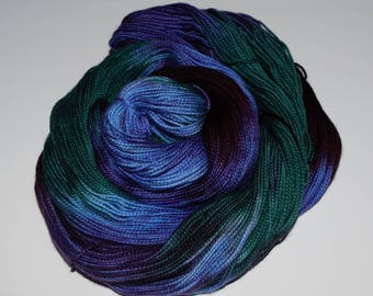 Hand dyed sock yarn, Indie dyed yarn, Superwash Merino Sock Yarn